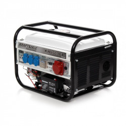 Elektros generatorius 2.5 kW 12V/220V/380V KD113 su el. starteriu